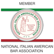 Member of the National Italian American Bar Association