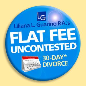 Flat fee uncontested 30 day divorce divorce attorney weston uncontested flat fee divorce service by liliana l guarino pa solutioingenieria